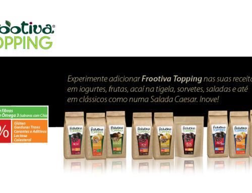 Frootiva Topping – Novas embalagens na Semana Mesa SP 2015